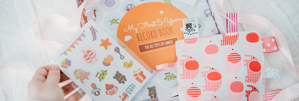 First 5 Years Baby Memory Book, Childhood Journal
