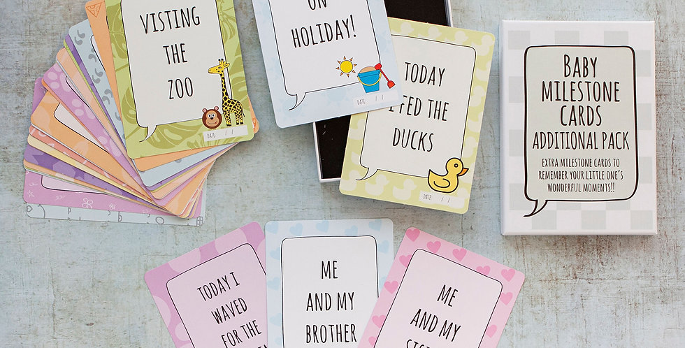 Baby Memory Cards Range by Little Pickle Memories