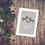 Reindeer Dad and Stepmom Christmas Card