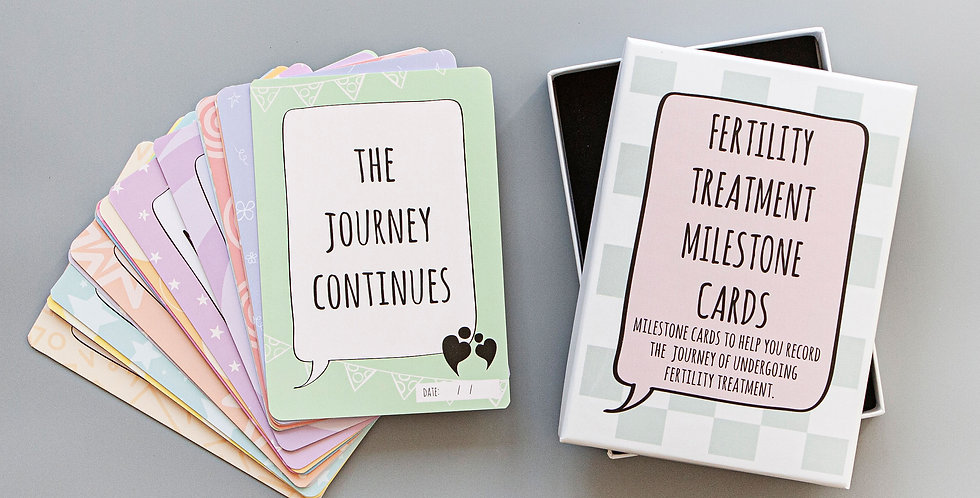 Fertility Treatment Milestone Cards