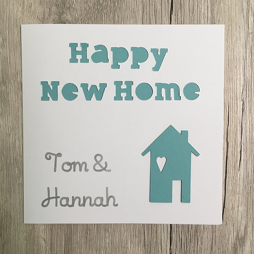 Greetings card - Happy New Home