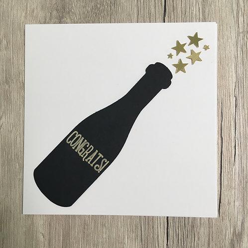 Greetings card - Congrats