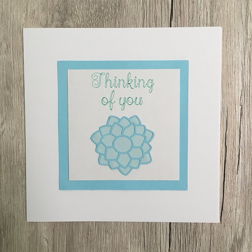 Greetings card - Thinking of you
