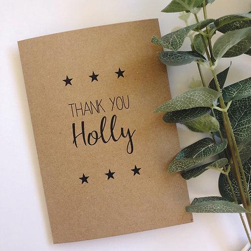 Greetings card - Simple & Personal