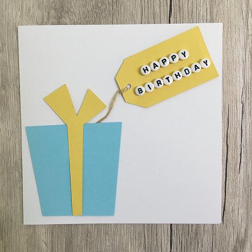Greetings card - Birthday present