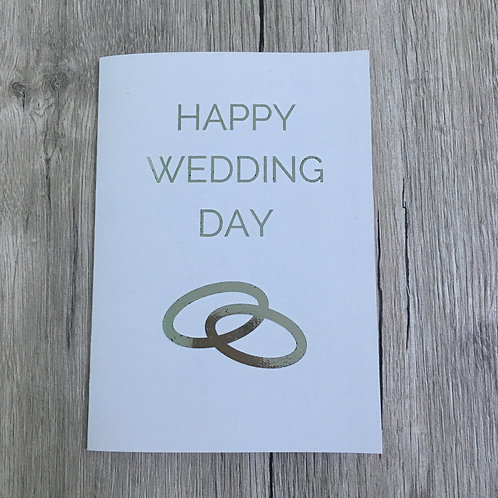 Greetings card - Happy Wedding Day