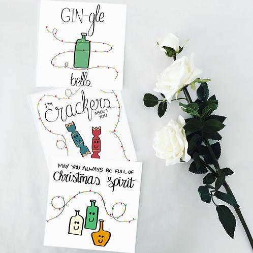 5 Christmas Card Bundle
