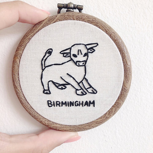"Mini 3"" Birmingham Embroidery Hoop"