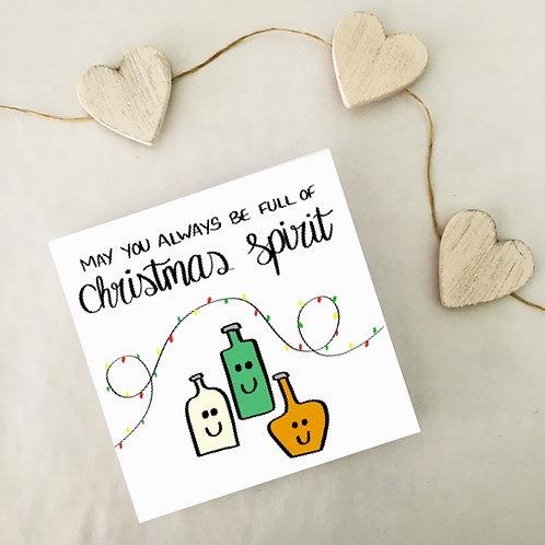 Greetings card - Christmas spirit