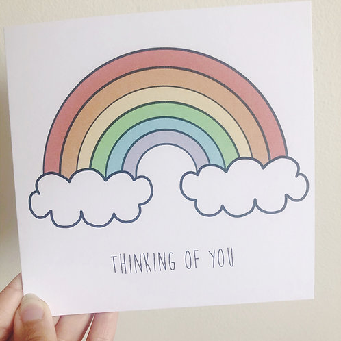 Greetings card - Rainbow