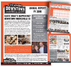 Downtown Mooresville Annual Report FY19