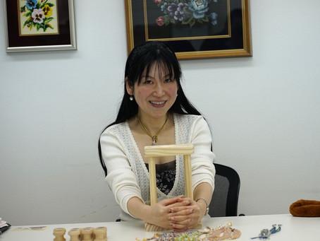0041:角組紐台の考案者で世界で活躍するBEADER「高木洋恵」さんです!!