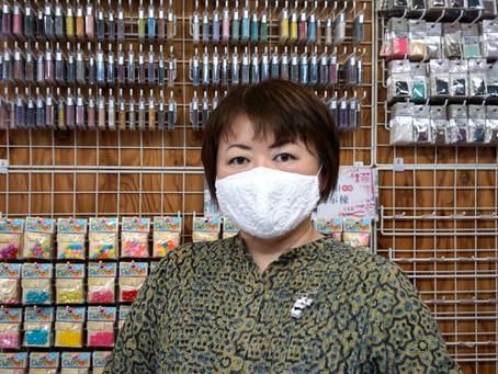 0011:ビーズラジオ(今回はなんとCDをプレゼント) #10今回はビーズ作家で歌手の篠原美和さん