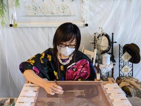 0056:ビーズラジオ54回 ゲストはオートクチュール刺繍関連の希少な材料を販売する「小さな手芸屋さん」です