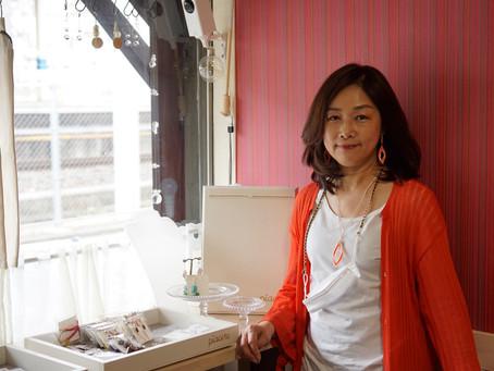 0047:ビーズラジオ45回様々な技術で身につけたいジュエリーを作る「Yosico圭」さんです