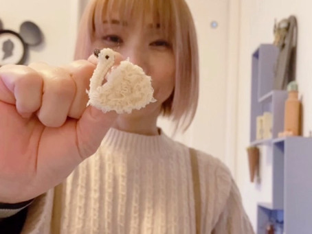 0032:ビーズラジオ 「TOKOさん」白はカラフル、いろいろな白を使ってデザインする素敵なデザイナーさんです。