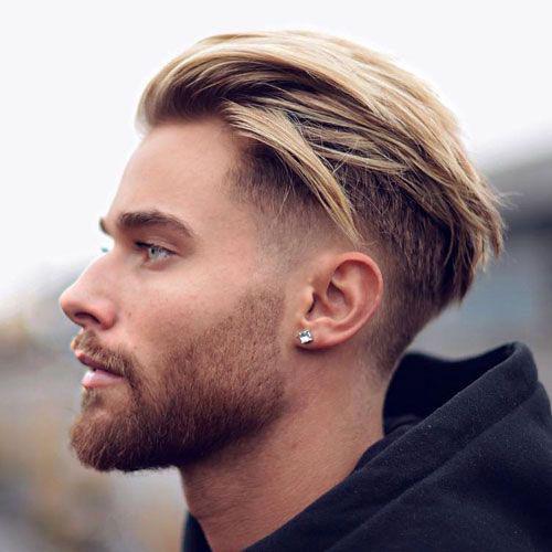 Мужская стрижка, борода и усы