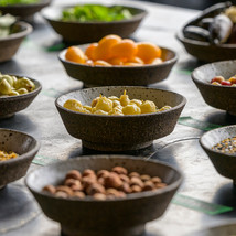 Native herbs and fruits at Vue de Monde, Melbourne