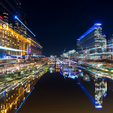 Yarra River from Princes Bridge, Melbourne VIC