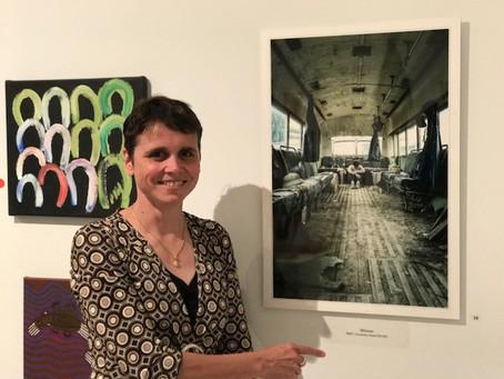 Winning Portrait at Art Award