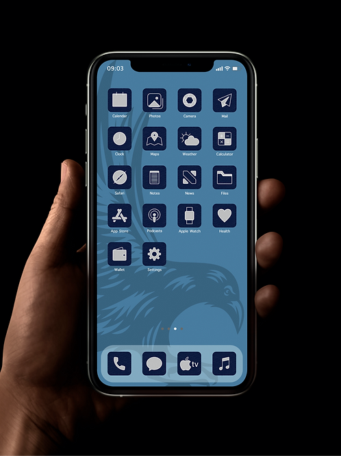 Ravenclaw | iOS 14 Custom App Icons | Full Set