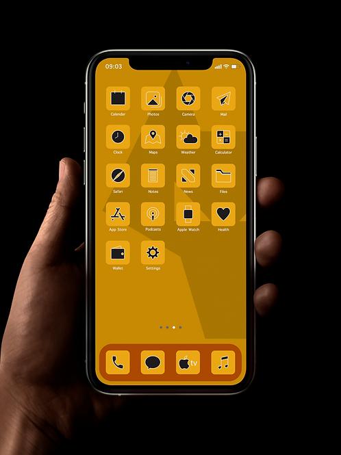 Wolves | iOS 14 Custom App Icons | Full Set