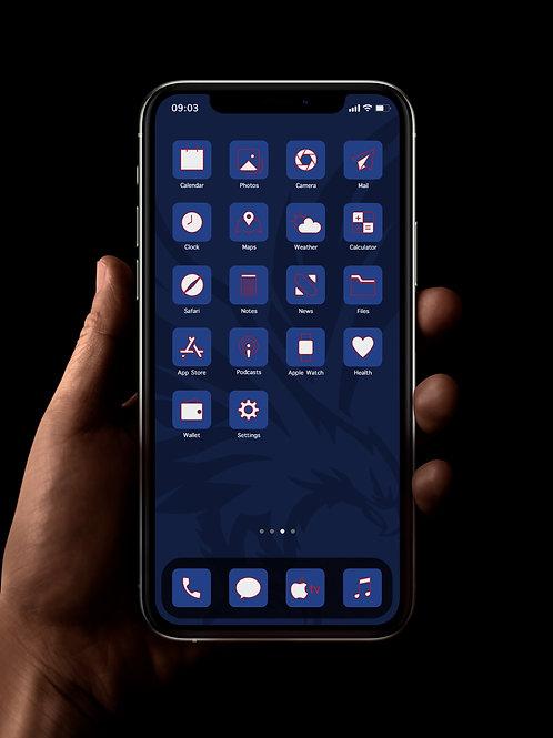 Crystal Palace | iOS 14 Custom App Icons | Full Set