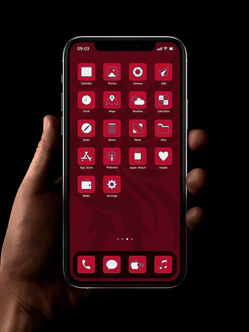 Liverpool | iOS 14 Custom App Icons | Full Set