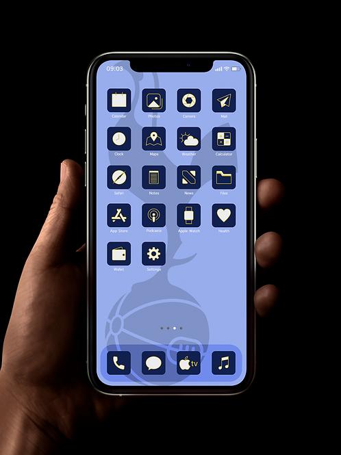 Tottenham Hotspur | iOS 14 Custom App Icons | Full Set