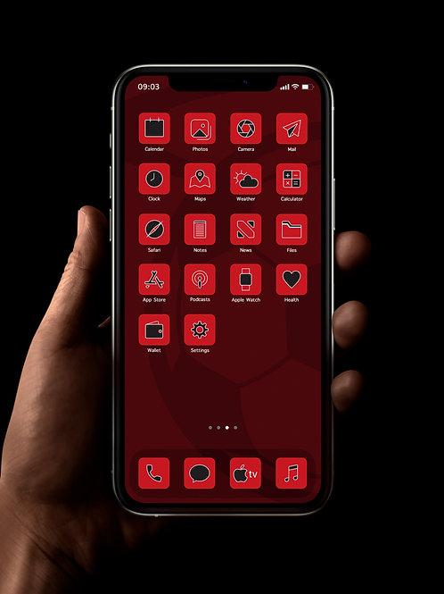 Southampton | iOS 14 Custom App Icons | Full Set