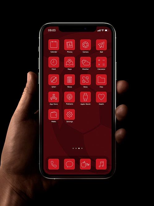 Southampton (Outline)   iOS 14 Custom App Icons   Full Set