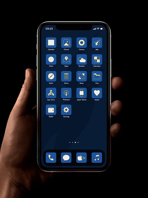 Brighton | iOS 14 Custom App Icons | Full Set