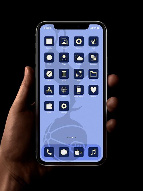 Spurs | iOS 14 Custom App Icons | Full Set