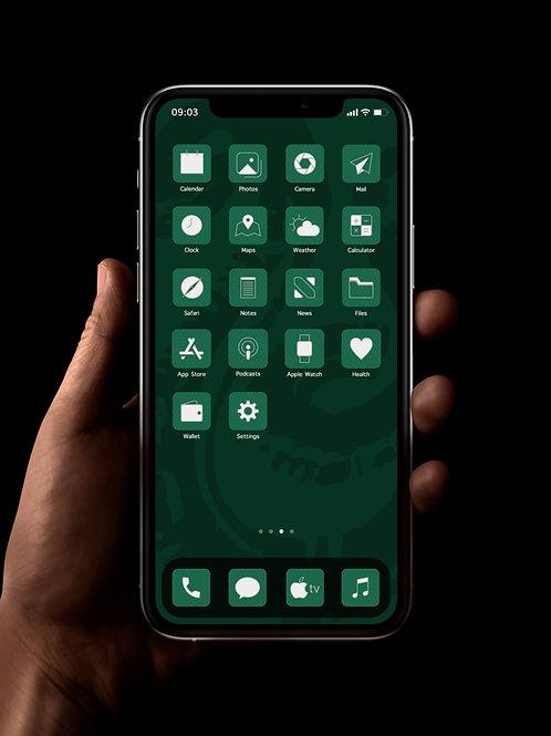 Slytherin | iOS 14 Custom App Icons | Full Set