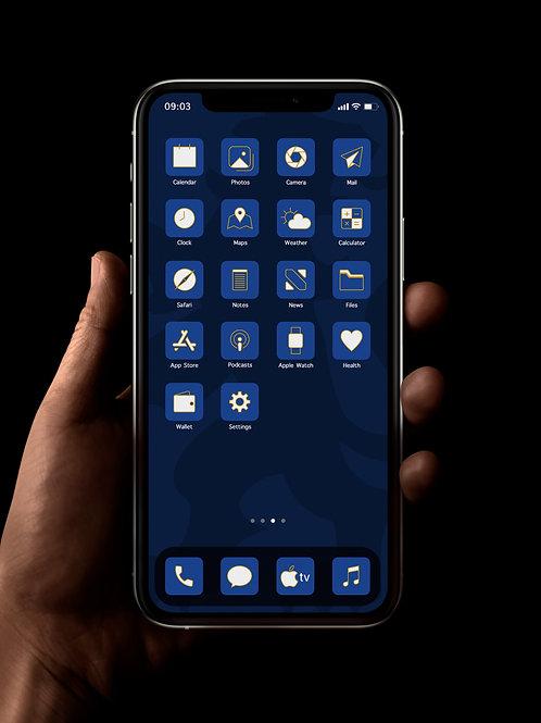 Chelsea (Outline)  | iOS 14 Custom App Icons | Full Set
