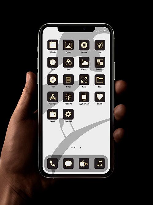 Newcastle | iOS 14 Custom App Icons | Full Set