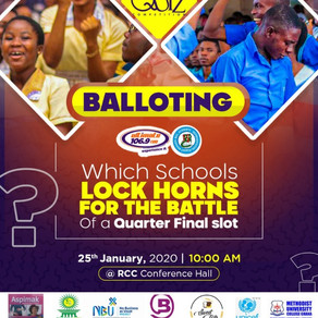 Ultimate High Sch Quiz Full Draw Out: KUHIS, OWASS, KOSS, O. T., Forces, Hubert, Amass Get Set To ba