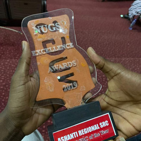 Ashanti Regional SRC Adjudged Most Outstanding Regional SRC of the Year at NUGS Excellence Awards 20
