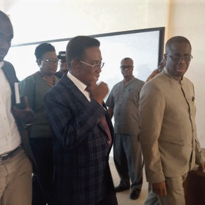 Prof. Yankah inspects ongoing project at UCC