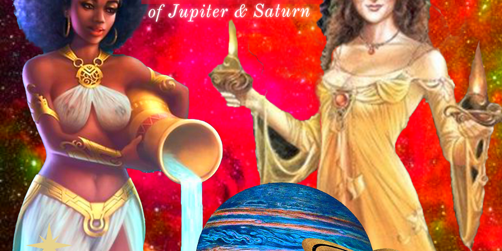 Yule & Winter Solstice Ceremony + The Great Conjunction Of Jupiter & Saturn