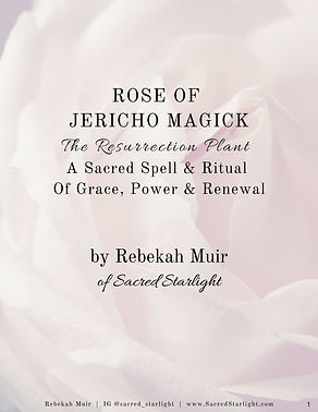 Rose of Jericho Magick - Etsy Cover Spel