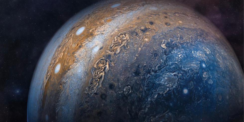 NEW MOON WEBINAR |  The Power of Jupiter: Sagittarius New Moon Candle Magick Manifestation Workshop & Ceremony