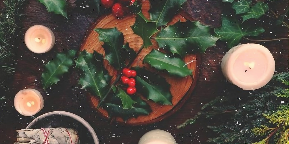 Holiday Magick || Yule & Winter Solstice Merriment with Candle, Evergreen & Reiki Magick Ceremony