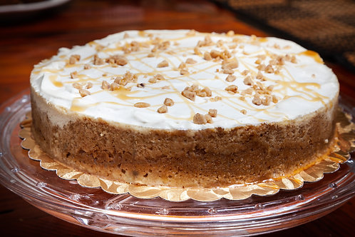 Caramel & Toffee Cheesecake