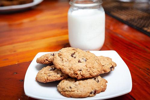 1 Dozen Oatmeal Raisin Cookies