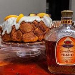 Peach Crown Monkey Bread