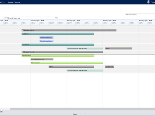 Unclog the Back Office by Optimizing Schedule and Dispatch