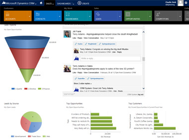 Microsoft Announces Microsoft Dynamics CRM 2013