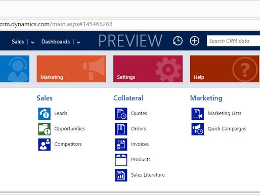Microsoft Dynamics CRM Online Update
