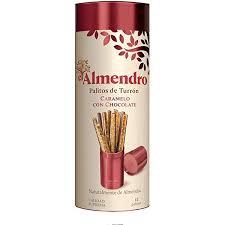 El Almendro Caramel Chocolate Turron Sticks